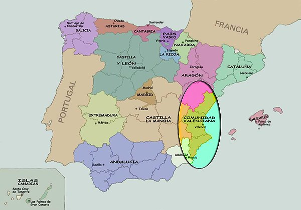 comunidad valencia: